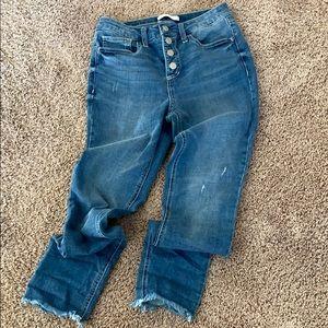 LC Lauren Conrad High Rise Skinny jeans
